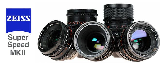 Zeiss Super Speeds T1.3 6 Lens Set