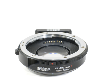 Rent: Metabones Speed Booster S version (EF glass on MFT body