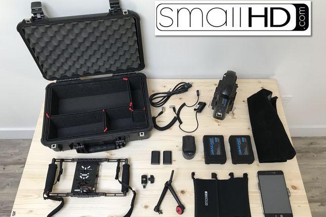 SmallHD 702 Bright HD 7-in Field Monitor Kit w/ Batts & AKS