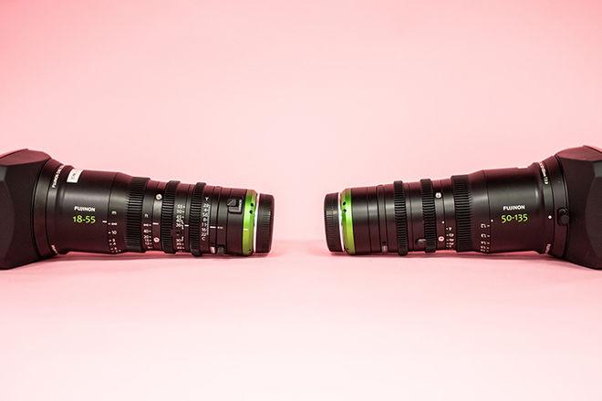 Fujinon MK Zoom Lenses (Sony E Mount, 18-55mm & 50-135mm)