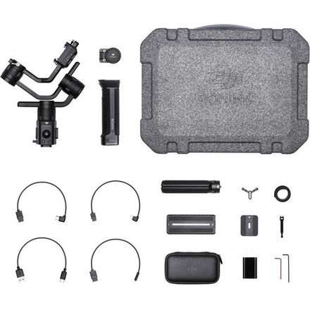 DJI Ronin-S w/Case and Camera Support Accessories