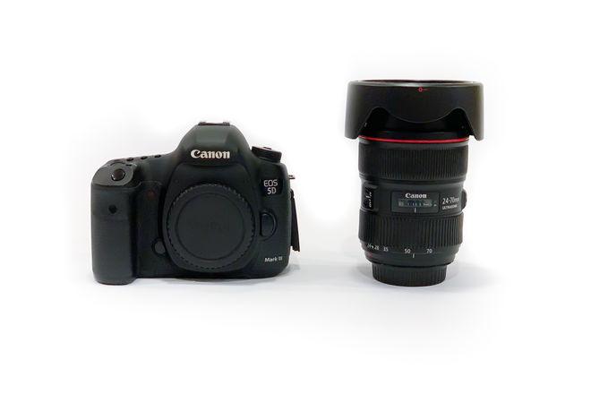 Canon 5D Mk III / Canon 24-70 2.8 L Lens