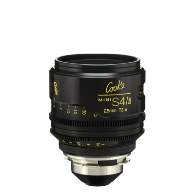 25mm Cooke Mini S4i T/2.8 Lens (Listing #1)