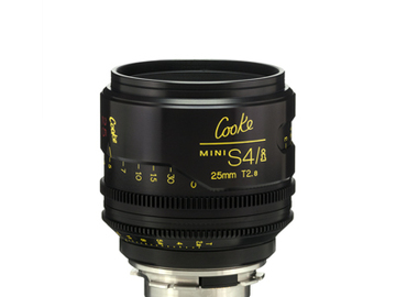 Rent: 25mm Cooke Mini S4i T/2.8 Lens