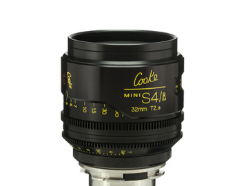 Rent: 32mm Cooke Mini S4i T/2.8 Lens