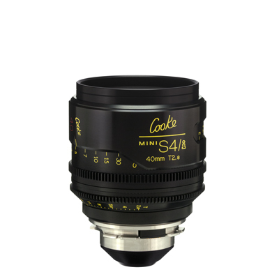 40mm Cooke Mini S4i T/2.8 Lens
