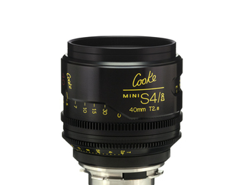Rent: 40mm Cooke Mini S4i T/2.8 Lens