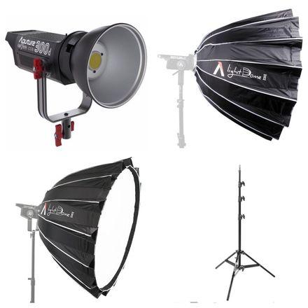 "Aputure 300d + Aputure Light Dome II (36"")"
