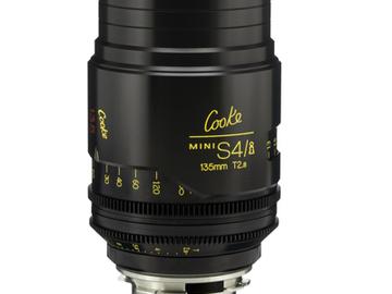 Rent: 135mm Cooke Mini S4i T/2.8 Lens (Listing #1)