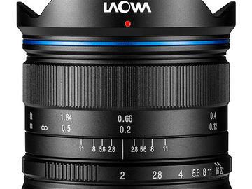 Rent: Venus Optics Laowa 7.5mm f/2 MFT Mount Lens
