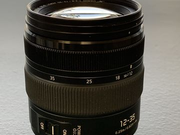 Rent: Panasonic 12-35mm f/2.8 O.I.S. V2 Zoom Lens