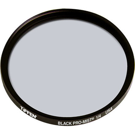 82mm Tiffen Black Pro-Mist Filters (1/4 and 1/8)