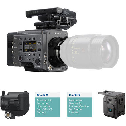 SONY Venice Camera with Anamorphic Full Frame License