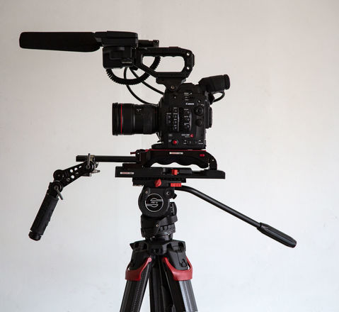 Documentary Package - Canon EOS C300 Mark II