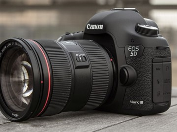 Rent: Canon 5D markIII package w/l series lens