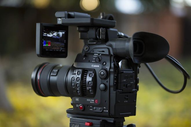 Canon C300 Mark II,  Canon 24-70, 70-200mm L, CFAST, Tripod