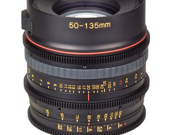 Rent: Tokina 50-135mm T3.0 Cinema Lens - PL Mount