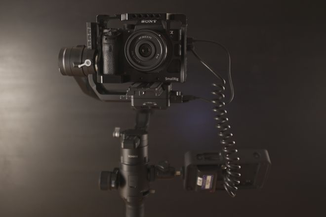 DJI Ronin-S Package with Sony A7sii and SmallHD Monitor