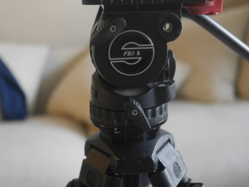Rent: Sachtler FS8 Tripod system with Travel hard Case