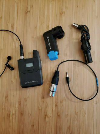Sennheiser AVX-ME2 Lav Mic and Receiver Set