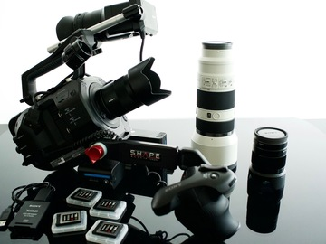 Rent: Sony PXW-FS7  package with Primes and Zoom