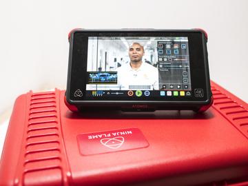 Rent: Atomos Ninja Flame HDR 4k Recorder