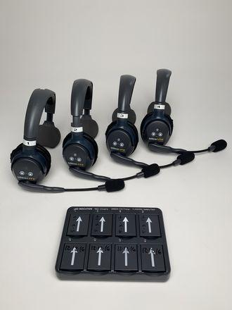 EarTec UltraLITE Wireless Headsets  (Set of 4)