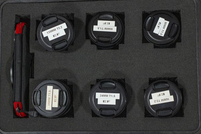 Rokinon Cine Lens Set 16, 24, 35, 50, 85, 135 Plus More!