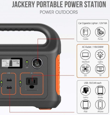 240W Portable Power Station