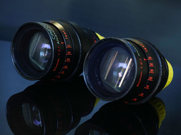 Rent: CINEOVISION ANAMORPHIC LENSES 50MM, 85MM