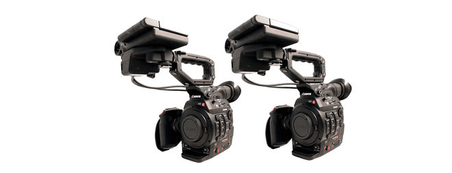 2 x Canon EOS C300 Mark II