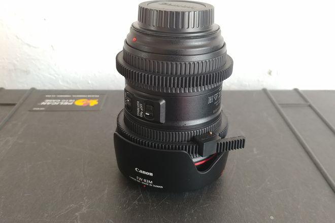 Canon EF 24-105mm Ver. II w/ focus/zoom gear rings