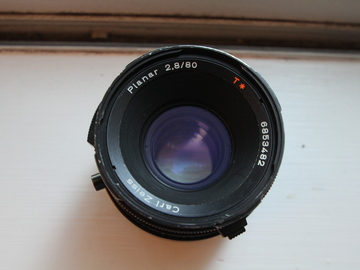 Rent: Hasselblad Carl Zeiss Planar T* 80mm f2.8 CF Lens