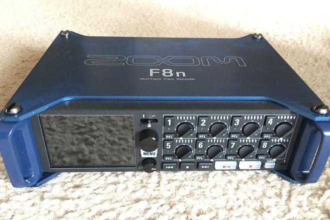 BRAND NEW Zoom F8n Multi-Track Field Recorder
