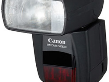 Rent: Canon 580 EX II flash