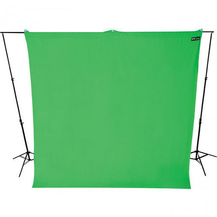 Westcott Green Screen with Backdrop Support - 9'x10'
