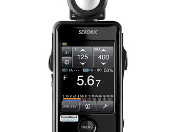 Rent: Sekonic Litemaster Pro L-478DR Light Meter