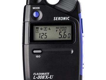 Rent: Sekonic L-308X-U Flashmate Light Meter