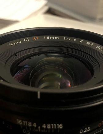 Fujinon XF 16mm 1.4