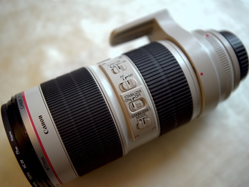 Rent: Canon EF 70-200mm f/2.8L IS II USM Lens + UV Filter