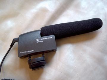Rent: Sennheiser MKE 400 Compact Video Camera Shotgun Microphone