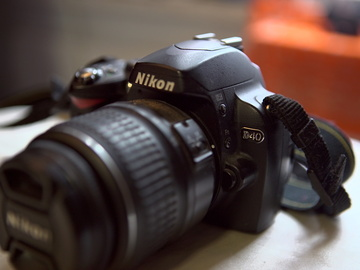 Rent: Nikon D40 6.1 MP DSLR Camera and Nikon 18-55mm f/3.5-5.6G ED