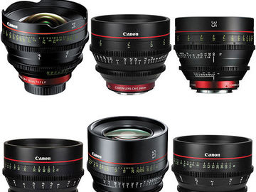 Canon CN-E Cinema Lenses