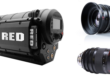 Rent: RED MX Package + 2x Red Zoom Lenses ( 18-50mm + 50-150mm)