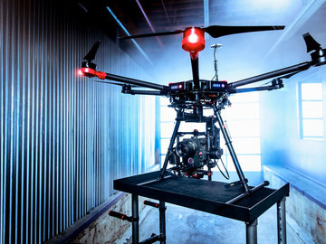 Rent: DJI Matrice 600 drone w/ Alexa Mini, two ops, FAA EXEMPT