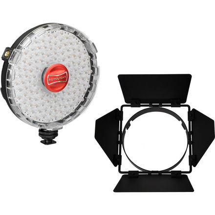 Rotolight NEO On-Camera LED Light Kit with Barndoors