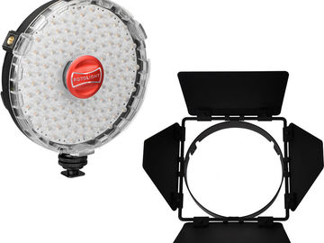 Rotolight NEO On-Camera LED Light Kit with Barndoors
