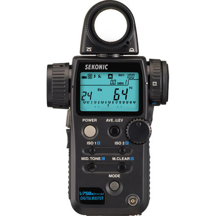 Sekonic L-758CINE-U DigitalMaster Light Meter