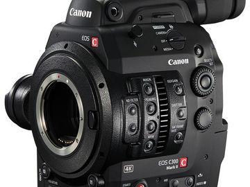 Rent: Canon C300 Mark II (EF)