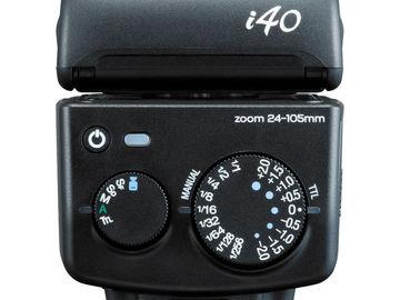 Nissin i40 Compact Flash for Fujifilm Cameras Unit B